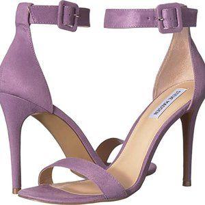 Steve Madden Lavender heeled ankle strap Sandals